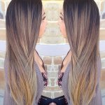 Hair melting color technique