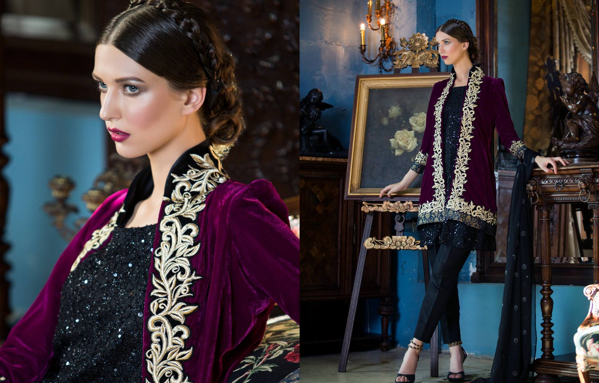 Luxury Formal Wear Tabassum Mughal 2016 Al Zohaib
