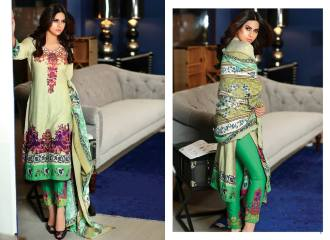 Mahnoor Embroidered Dresses Al Zohaib 2016 9