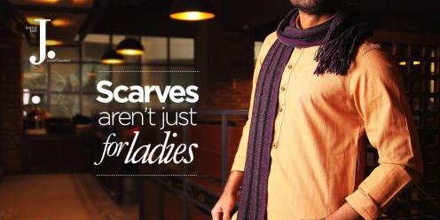 Men Scarves Designs J. Collection 2016