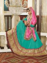 Natasha Couture Party Wear Lehenga Dress Collection 2016 5