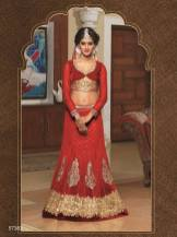 Natasha Couture Party Wear Lehenga Dress Collection 2016 7