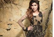 Pure Chiffon Party Wear Dresses ZS Textiles Collection 2016