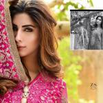 Pure Chiffon Party Wear Dresses ZS Textiles Collection 2016 4