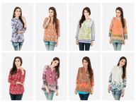 Short Kurtis Pret Collection Khaadi 2016