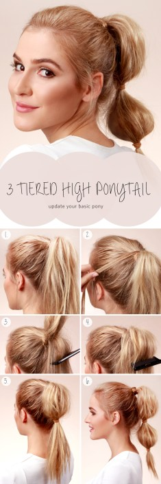 Spring Step By Step Hair Tutorials 2