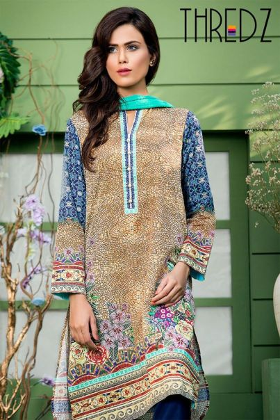 Spring Summer Stitched Tunics Collection Threadz 2016 10