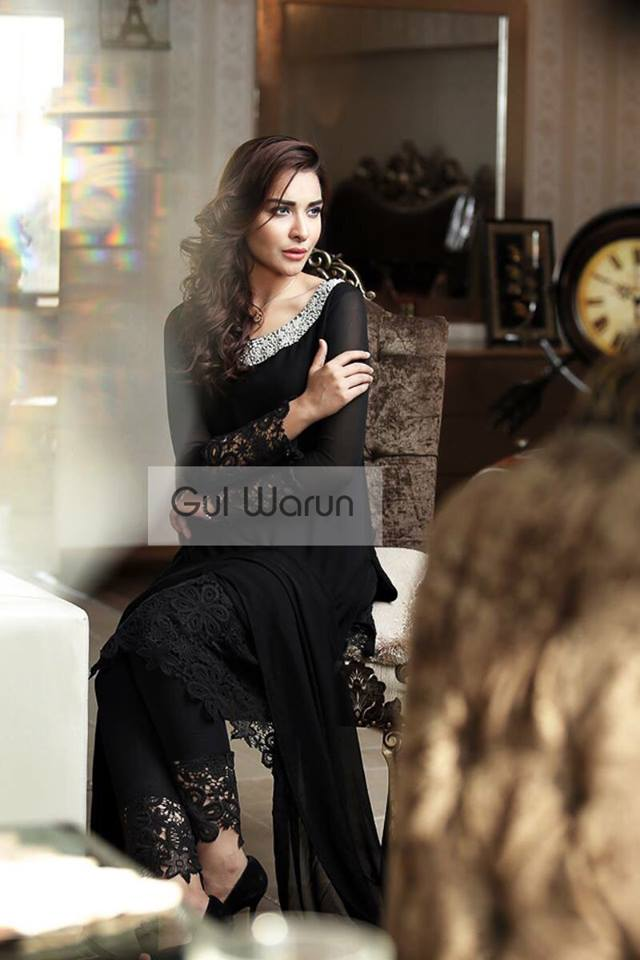 Three Piece Ready To Wear Formal Dresses Gul Warun 2016 14