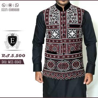 Waistcoat Kurta Shalwar Men Collection Edge 2016