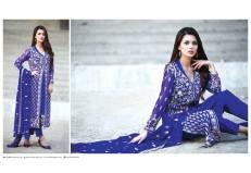 Amna Ismail Semi Stitched Chiffon Spring Collection 2016 15