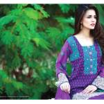 Amna Ismail Semi Stitched Chiffon Spring Collection 2016 17