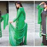 Amna Ismail Semi Stitched Chiffon Spring Collection 2016 2