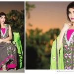 Amna Ismail Semi Stitched Chiffon Spring Collection 2016 20