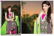 Amna Ismail Semi Stitched Chiffon Spring Collection 2016 20