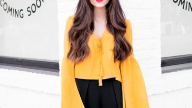 Bell Sleeves Outfits To Try In Spring Season 2016