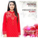 Bonanza Satrangi Modern Valentines Collection 2016
