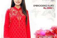 Bonanza Satrangi Modern Valentines Collection 2016