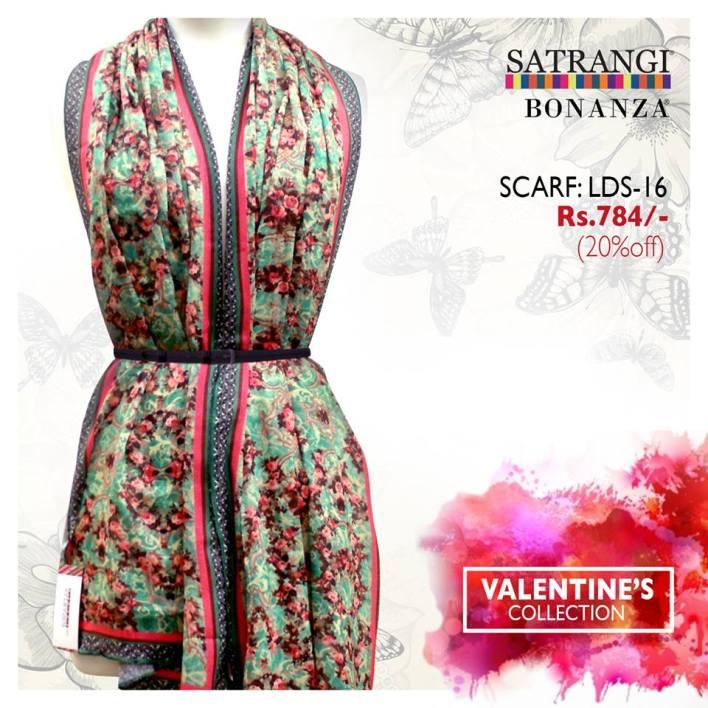 Bonanza Satrangi Modern Valentines collection