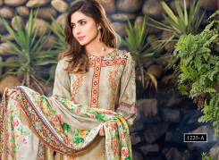 Digital Printed Cotton Silk UnStitched Collection 2016 10
