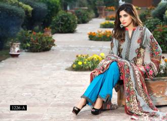 Digital Printed Cotton Silk Unstitched Collection