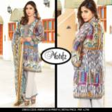 Digital Printed Cotton Silk UnStitched Collection 2016 3