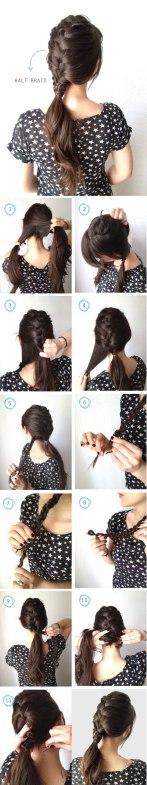 Hair Tutorials For Long Hair In Spring & Summer Season 10