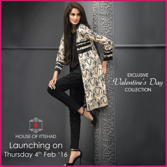 House of Ittehad Valentines day pret collection