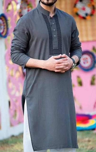 Junaid Jamshed Men's summer kurta shalwar