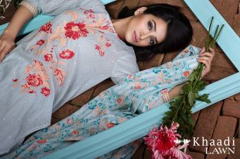 Khaadi Lawn 3 Piece Bold Impressions Summer Collection 5