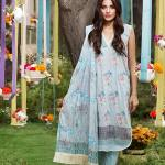 Khaadi Lawn Geometric Fusion Summer Collection 2016 5