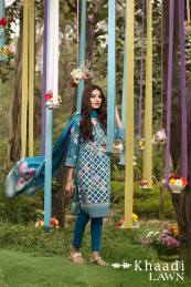 Khaadi Lawn Geometric Fusion Summer Collection 2016 9