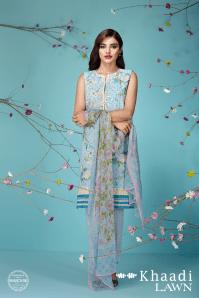 Khaadi Lawn Sun Bleached Neutrals Summer Collection 2016 4