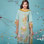 Khaadi Lawn Sun Bleached Neutrals Summer Collection 2016 8