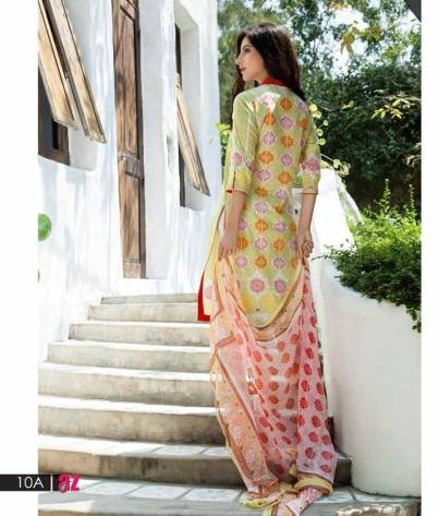 Mahnoor Embroidered Spring Summer Lawn Al Zohaib 2016 12