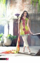 Mahnoor Embroidered Spring Summer Lawn Al Zohaib 2016 19