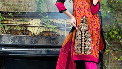 Mahnoor Embroidered Spring Summer Lawn Al Zohaib 2016