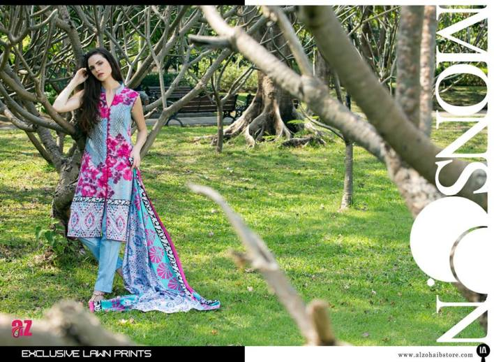 Monsoon Printed Summer Lawn collection