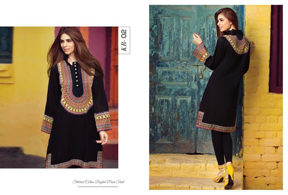 Resham Ghar ready to wear summer kurtis
