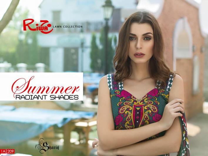 Shariq Textiles Riwaj Summer Lawn Collection