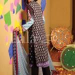 Classic Crinkle Lawn Casual Shalwar kameez Dresses 2016 11
