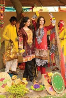 Classic Crinkle Lawn Casual Shalwar kameez Dresses 2016 9