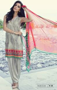 Maria B Summer Lawn Dresses Vol-1 2016 Collection 14