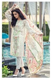 Maria B Summer Lawn Dresses Vol-1 2016 Collection 21
