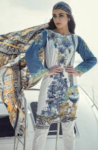 Maria B Summer Lawn Dresses Vol-1 2016 Collection 3