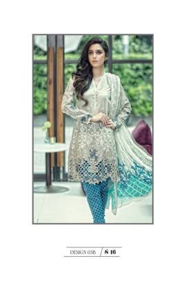 Maria B Summer Lawn Dresses Vol-1 2016 Collection 5