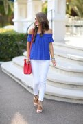 Off The Shoulder Summer Tops Women Casual Wear 10