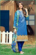Alkaram Luxurious Lawn Shalwar Kameez Vol-2 2016 8