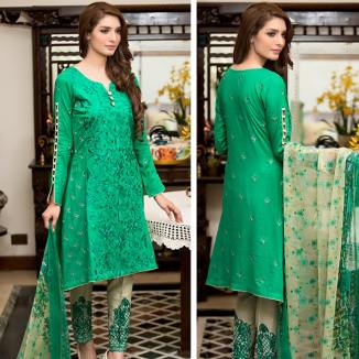 Ayesha Chottani Summer Party Wear Shalwar Kameez 2016 4
