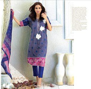 Chiffon Casual Shalwar Kameez Collection By Firdous Fashion 2016 6