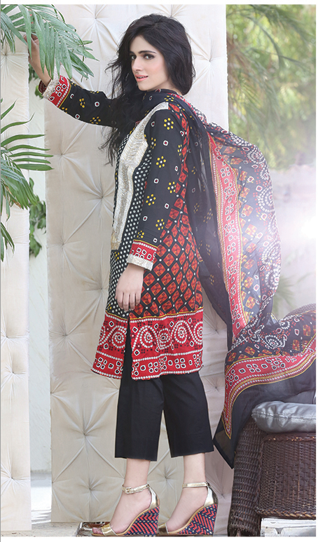 Chiffon Casual Shalwar Kameez Collection By Firdous Fashion 2016 7